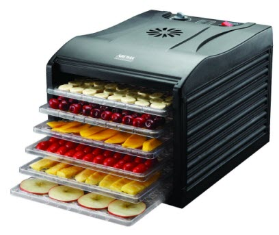 Aroma Professional 6 Tray Food Dehydrator temperature control