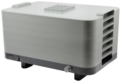 lequipe 528 6 tray food dehydrator with thermostat