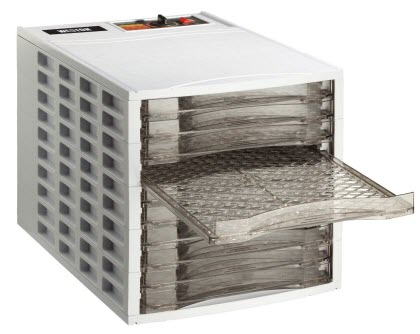 Weston VegiKiln 10 Tray Food Dehydrator with thermostat