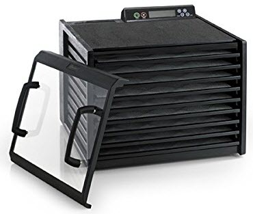 Excalibur 3948CDB 9 Tray Food Dehydrator with Digital Controller and Timer