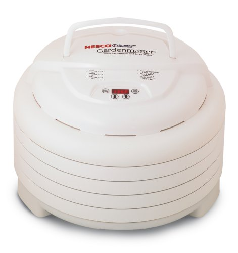 nesco american harvest fd 1040 gardenmaster dehydrator with digital timer and thermostat