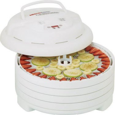 Nesco FD-1040 1000-watt Gardenmaster Digital Timer and Temp Food Dehydrator