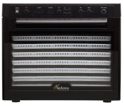 Tribest Sedona SD-P9000 Digitally Controlled Food Dehydrator
