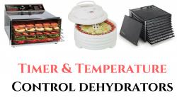 timer temperature control food dehydrators