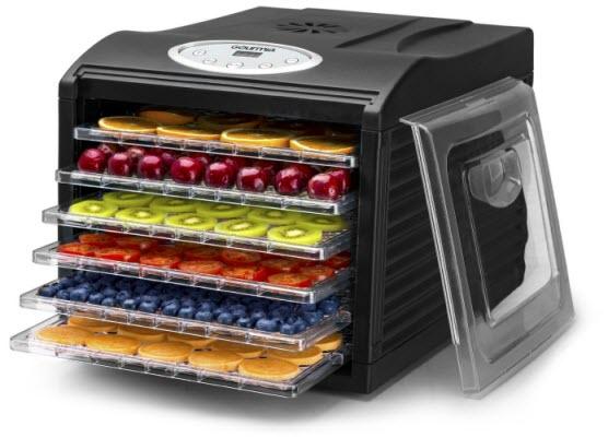 Gourmia GFD1650B Premium Countertop Food Dehydrator