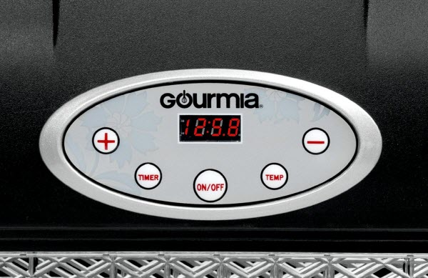Gourmia GFD1650B dehydrator temperature settings
