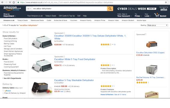 Food Dehydrator Buy Online