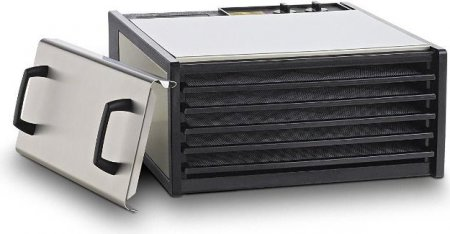 5-Tray Stainless Steel w/Plastic Trays #D500S