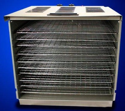 New Commercial 10 Tray Stainless Steel Food Fruit Jerky Dryer Blower Dehydrator