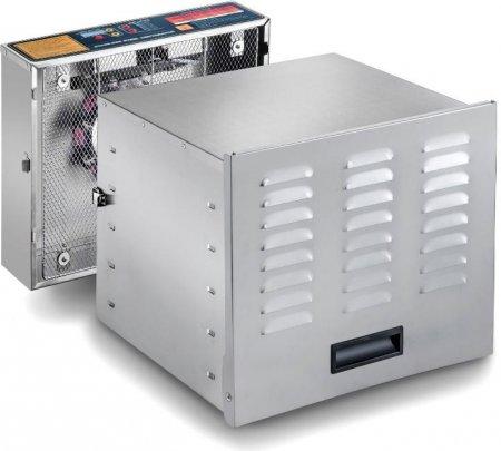 STX INTERNATIONAL Dehydra STX-DEH-1200W-XLS 10-Tray Stainless Steel Digital Food Dehydrator, 1200-watt