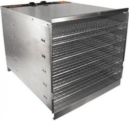Weston 74-1001-W PRO-1000 Stainless Steel Food Dehydrator (10 Trays)