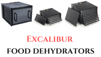 Excalibur food dehydrators