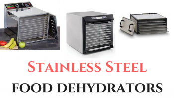 Stainless Steel food dehydrators