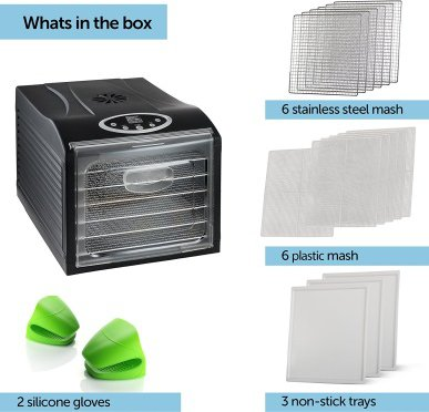 Additional Accessories for the MAGIC MILL PRO Food Dehydrator