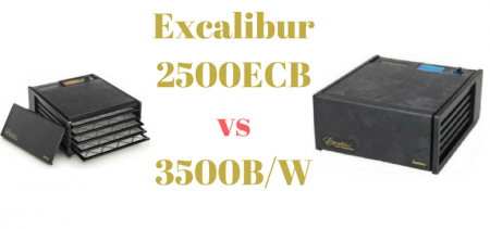 Excalibur 2500ECB Vs Excalibur 3500W