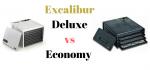 excalibur deluxe vs economy dehydrator