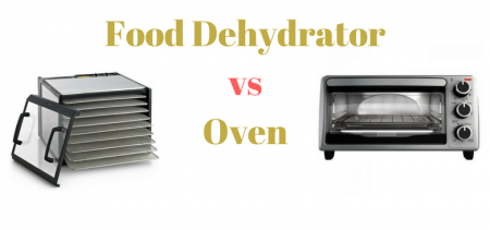 food dehydrator vs oven