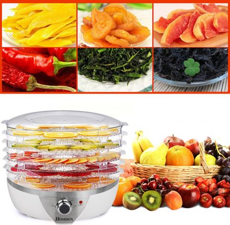 Fruit and Vegetables in a Dehydrator