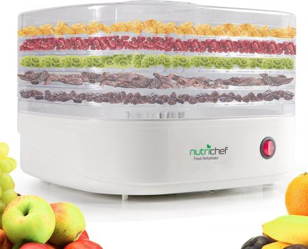 NutriChef Electric Food Dehydrator Trays