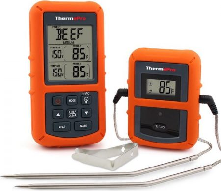 ThermoPro TP20 Wireless Remote Digital Grill Thermometer