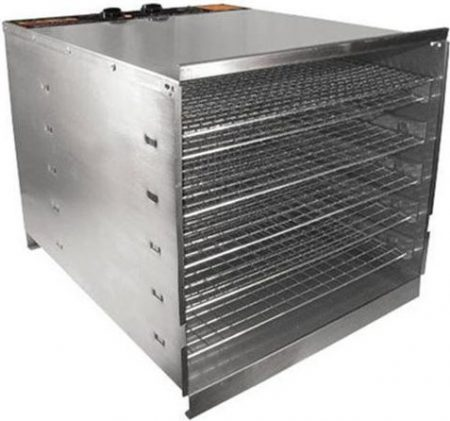 Weston 74-1001-W PRO-1000 Stainless Steel Food Dehydrator (10 Trays)
