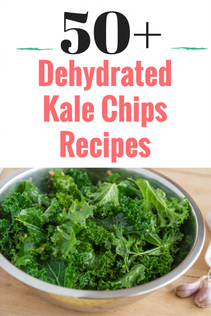 50 plus dehydrated kale chips recipes