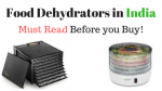 Food Dehydrators India