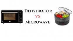 dehydrator vs microwave