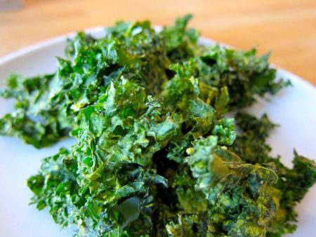 Dill Pickle Kale Chips Recipe