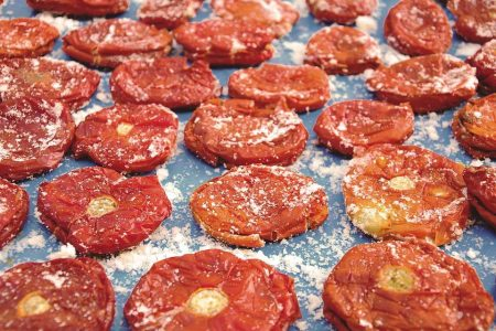 Dried Tomato Slices