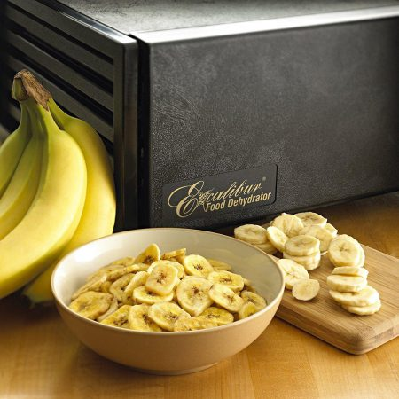 Excalibur Food Dehydrator Dried Banana