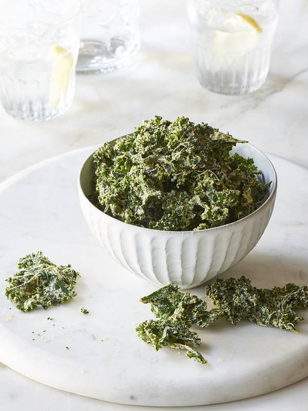 Garlic Kale Chips Recipe