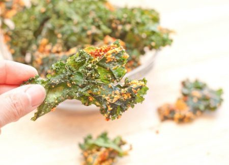 Recipe 1: Kale Chips with Cashews and Dried Tomatoes