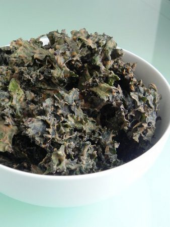 Kale Chips with Cinnamon Recipe