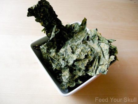 Kale Chips with Tahini Recipe