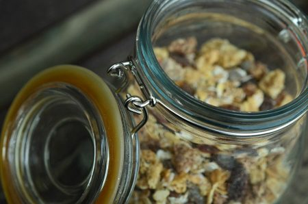 Mason Jar Close-Up