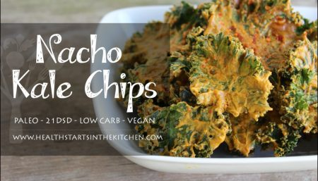 Nacho Kale Chips Recipe