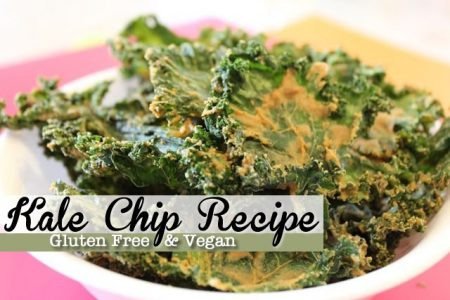 Raw Kale Chips with Garlic and Cashew Recipe