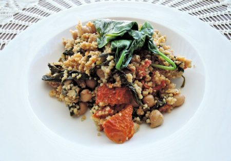 Recipe 20: Curried Couscous with Cashews