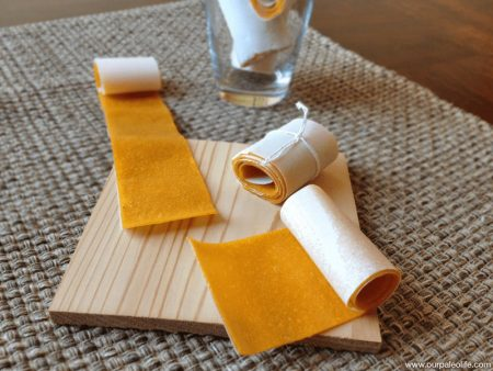 Recipe 56: Homemade Mango Fruit Leather