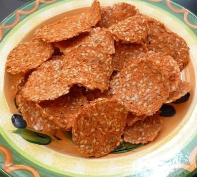 Recipe 66: Carrot Pulp Crackers