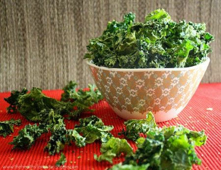 Sour Cream and Onions Kale Chips Recipe