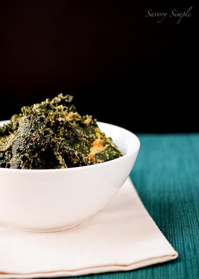 Spicy Tahini Kale Chips Recipe