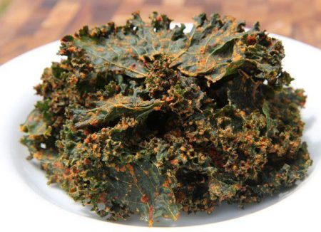 Spicy Thai Kale Chips Recipe