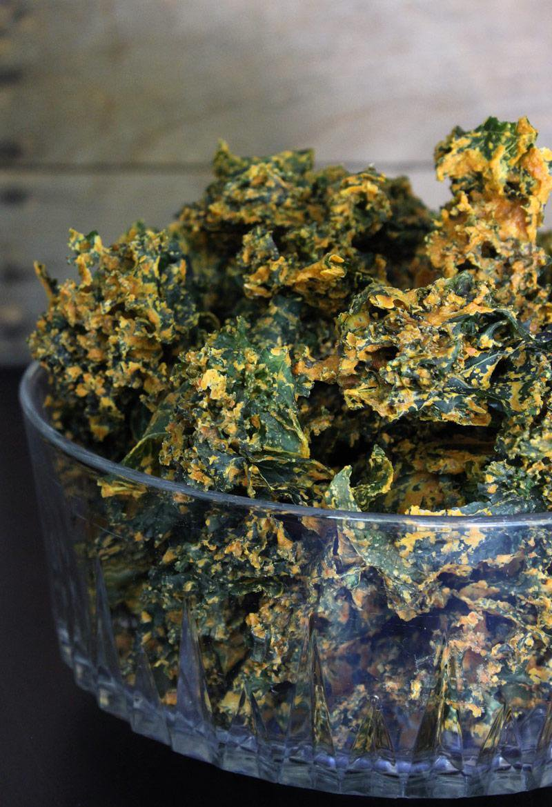 Super Crunchy Nut-Free Kale Chips Recipe
