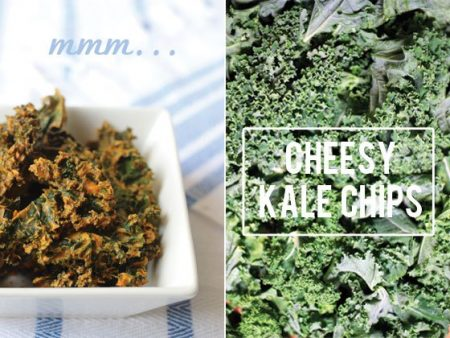 Vegan Cheesy Kale Chips Recipe