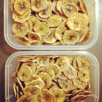 Dehydrated Banana Slices