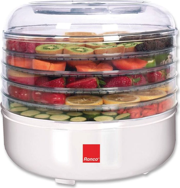 Ronco 5- Tray Electric Food Dehydrator FD1005WHGEN