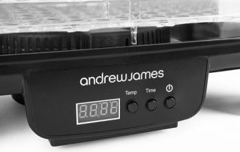 Andrew James Food Dehydrator Control Panel