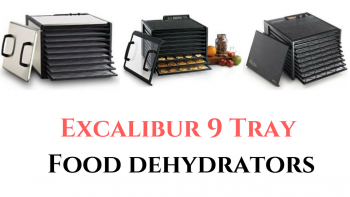 excalibur 9 tray food dehydrator